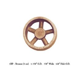 FWC-5BP 1 7/8 Dia x 7/8  width x 5/8 hub dia Bronze Flywheel Casting